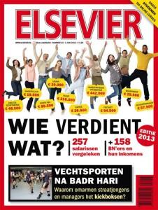 Elsevier wieverdientwat 2013