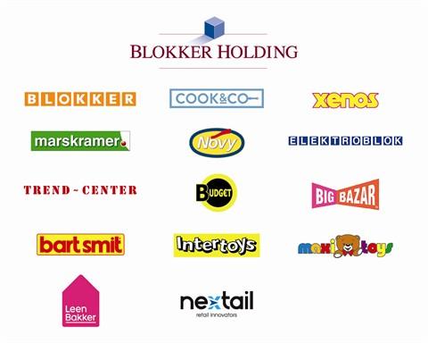 Blokker Holding logos